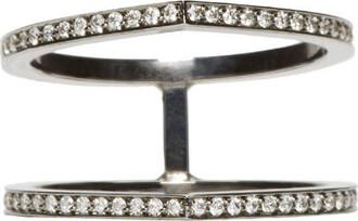 ring gold black jewels
