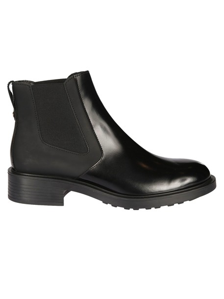 Hogan ankle boots black shoes
