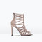 Leather high heel sandal - shoes - woman - shoes & bags | zara finland