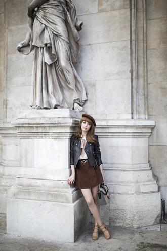 miss pandora jacket skirt shirt shoes bag