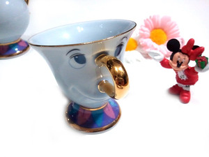 Beauty and the beast tea cup tokyo disneyland limited