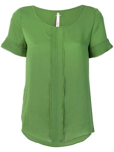 Marc Cain blouse women green top