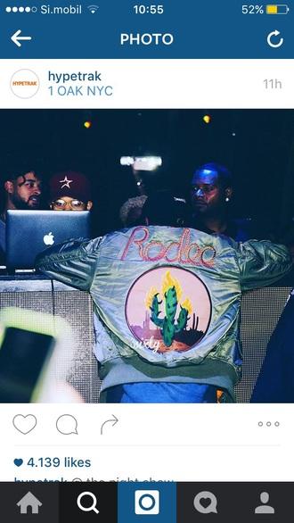 jacket bomber jacket travis scott hip hop hype