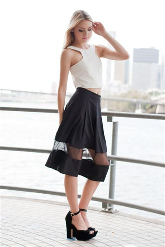 Shop Fashion Avenue - Pirouette Skirt