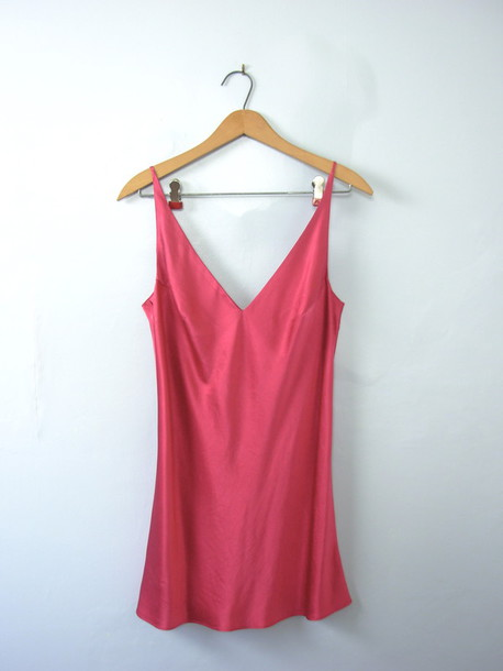 6273b5330ac23 dress slip dress silk dress silk slip dress pink pink dress pink silk top  mini dress