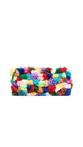 love clutch bright bag