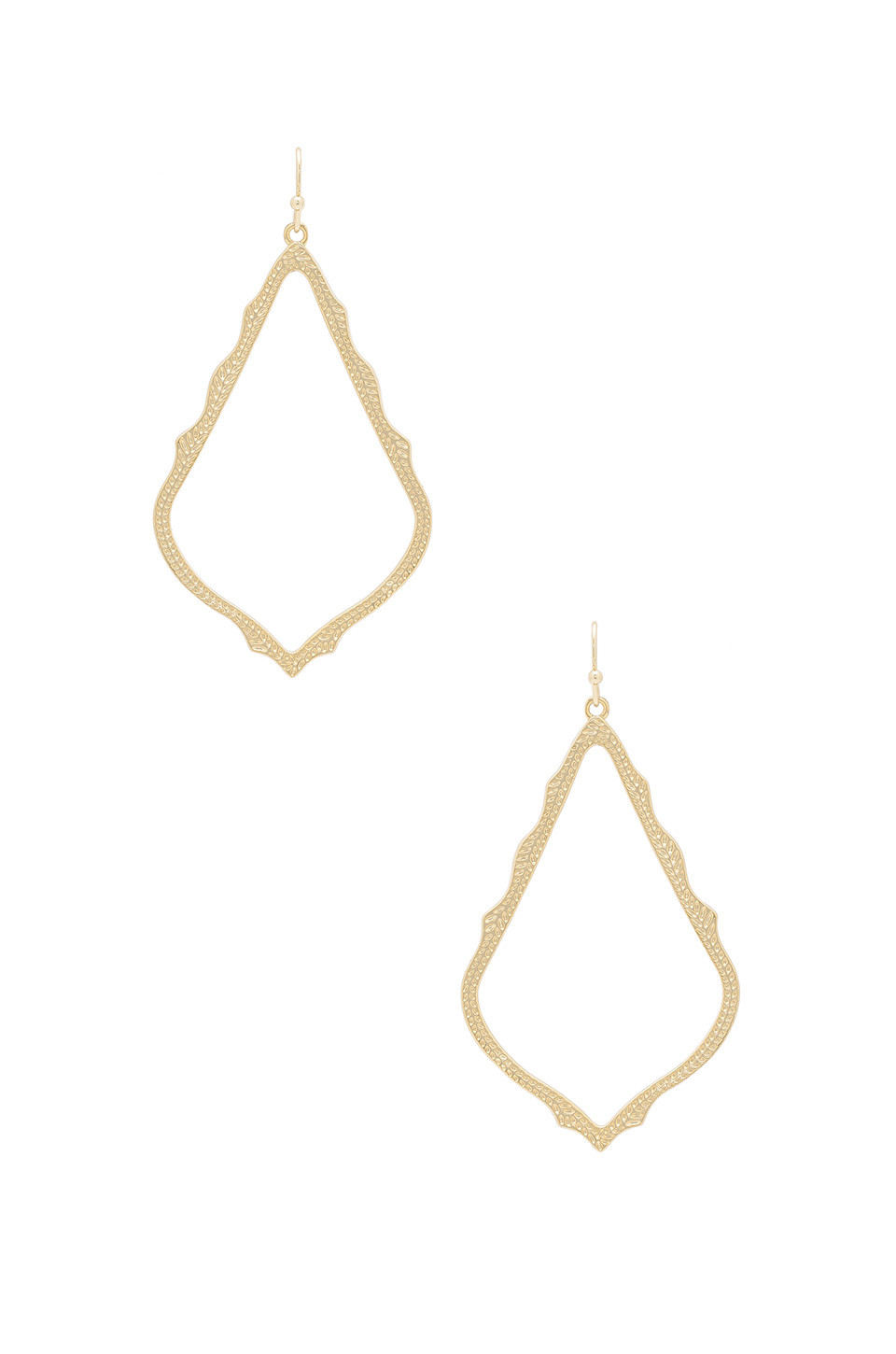 Kendra Scott Sophee Earrings in gold / metallic