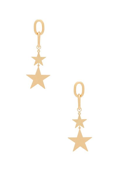 Ettika earrings metallic gold jewels