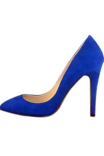 Fantastic Point-Toe Pumps suede Black [l007ps0015]- US$73.99 - PersunMall.com