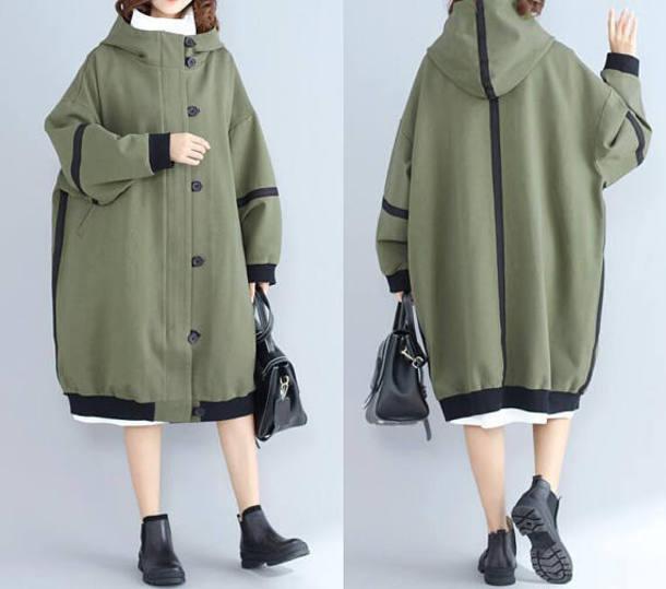 coat hooded windbreaker