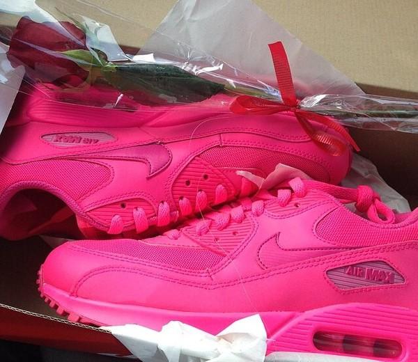 nike air max 90 all pink