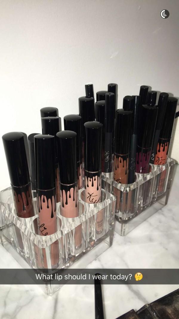 make-up make-up lipstick kylie jenner organizer home accessory lipstick holder