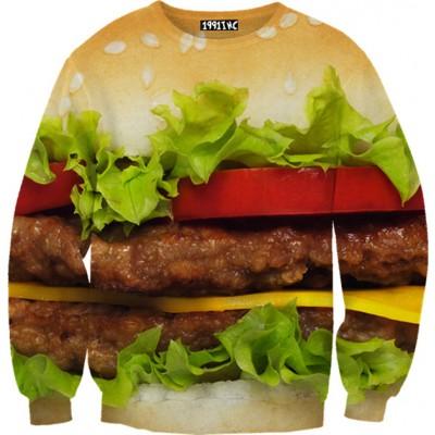☮♡ hamburger sweater ✞☆