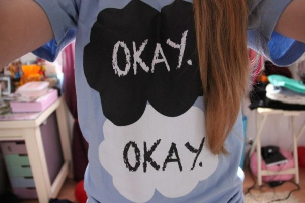 shirt blue the fault in our stars baby blue t-shirt john green okay okay t shirt okay okay shirt okay. the fault in our stars augustus waters hazel grace hazelgrace blouse tfios blue okay the fault in our stars the fault in our stars