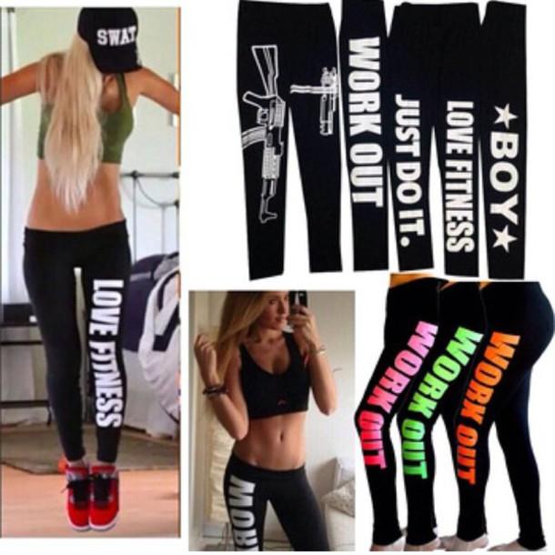 leggings black leggings