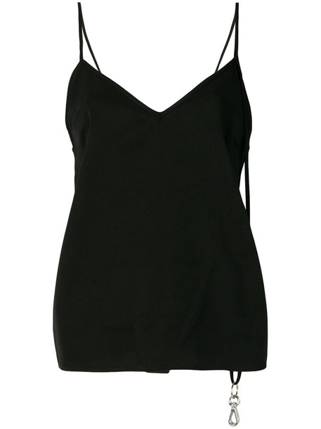 Mm6 Maison Margiela top vest top women black