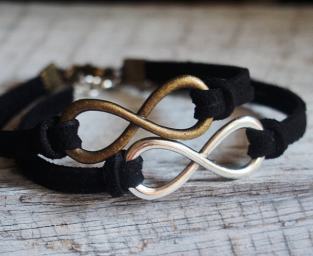 jewels bracelets vintage infinity infinity bracelet best friend bracelet matching bracelet couples bracelet