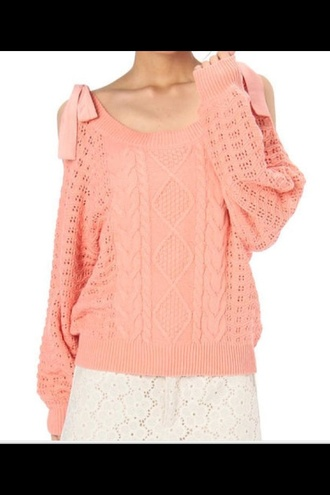 sweater liz lisa orange orange sweater liz lisa sweater autumn