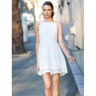 dress rose wholesale white white dress boho boho chic fashion mini dress style cute girly