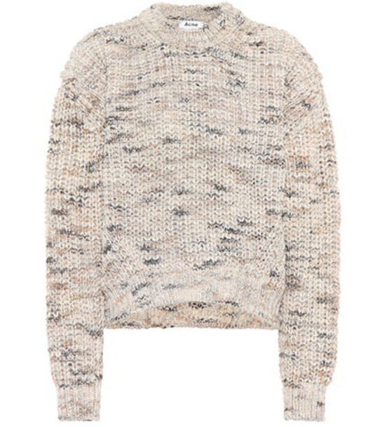 Acne Studios sweater wool beige