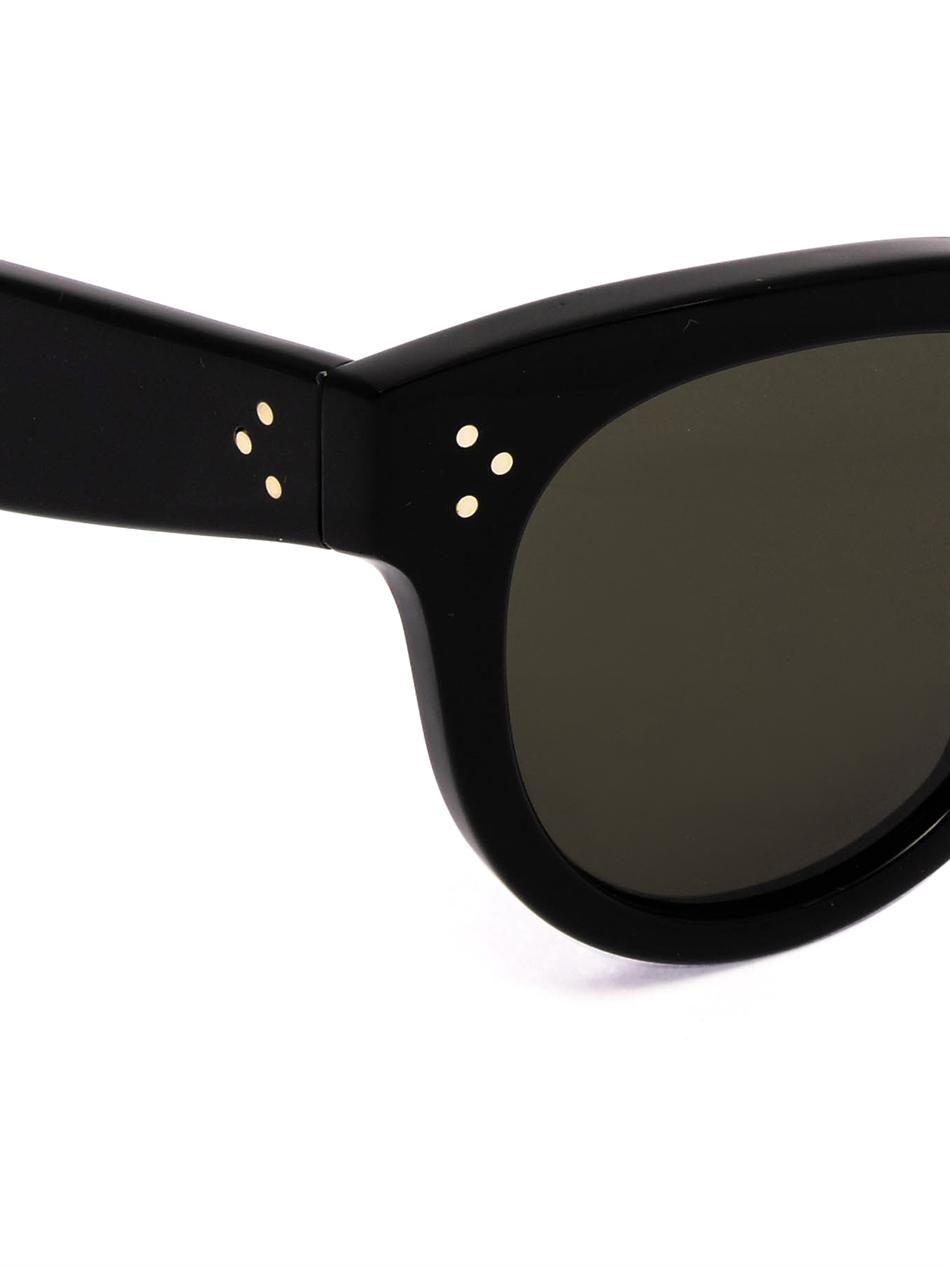 Round-framed acetate sunglasses | Céline Sunglasses | MATCHESF...
