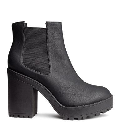 H&M Platform Boots $34.95
