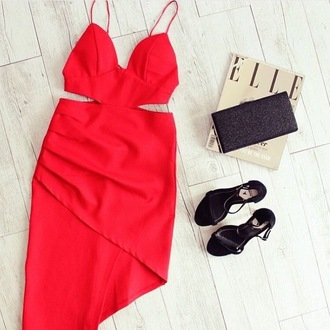dress maxi dress prom dress boho dress red dress heels shoes tumblr girl girly sexy sexy dress bodycon dress bag style