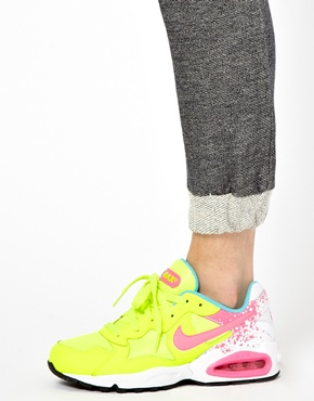 Nike | Nike Air Max Triax 94 Lime Trainers at ASOS