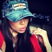 hat,jeans,cap,blue,quote on it