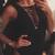 Black Sleeveless Deep V-Neck Crossed Lace Up Bodysuit