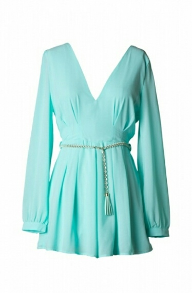 Melrose Romper in Mint | Forever Mint | Online Store Powered by Storenvy