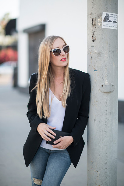 eat sleep wear blogger shoes jacket jeans