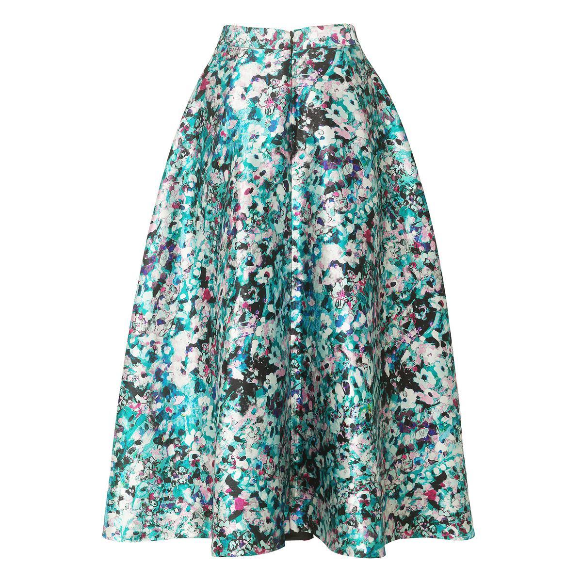 Susan floral print full skirt