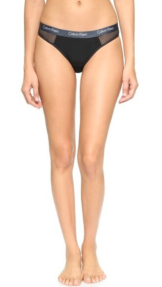 thong fashion black underwear