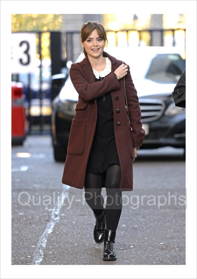 Jenna Louise Coleman Doctor WHO Photo Glossy 129 Q | eBay
