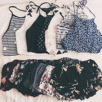 tank top grunge top hippie crop tops