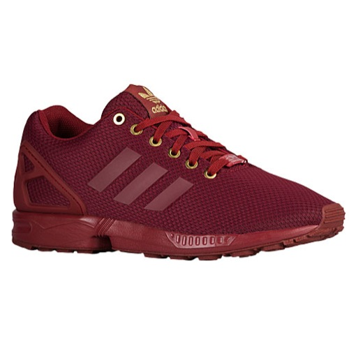 designer fashion 9faee bfa8d wholesale burgundy and gold adidas zx flux 43384 b3683
