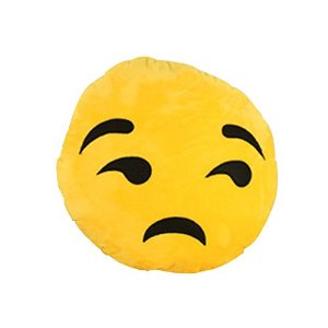 Amazon.com - Generic Giggle Emoticon Soft Emoji Cushion Pillow Stuffed Plush Toy Yellow Round -
