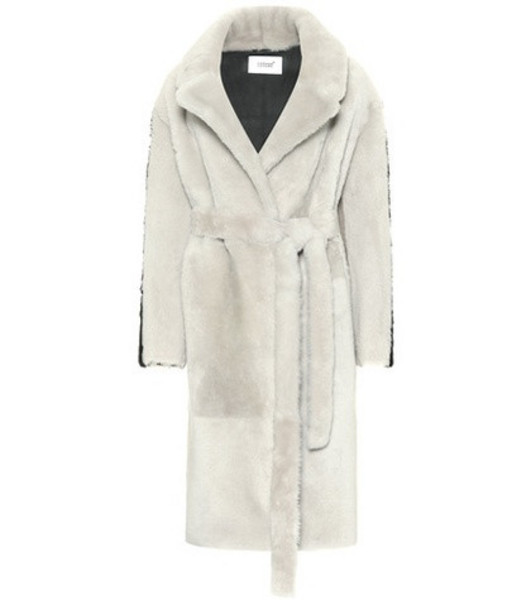 Common Leisure Wool and alpaca coat in grey