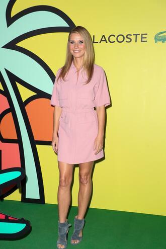 shoes dress gwyneth paltrow suede sandals