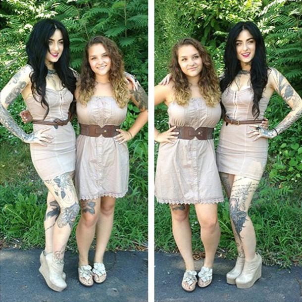 dress cream dress nude dress bodycon dress clothes beige dress