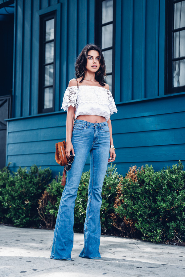viva luxury blogger jeans blouse bag sunglasses jewels
