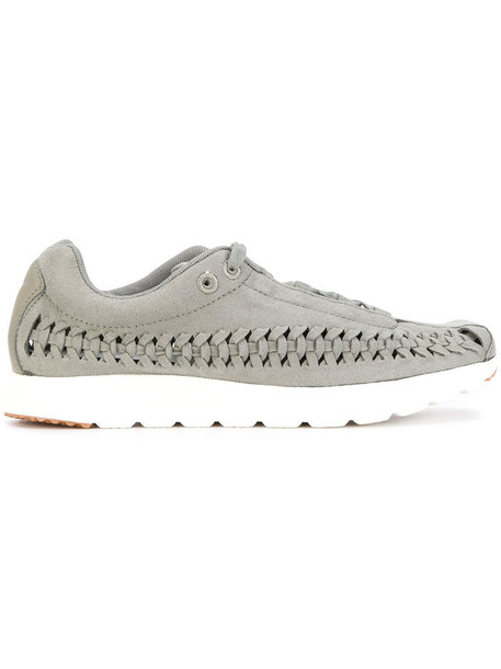 women sneakers suede grey neoprene shoes