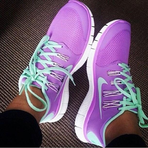 Nike Girls Flex Run  Toddlers Running Shoes