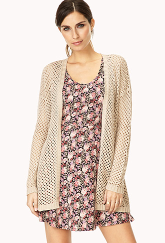 Easy Open-Knit Cardigan | FOREVER21 - 2000090074