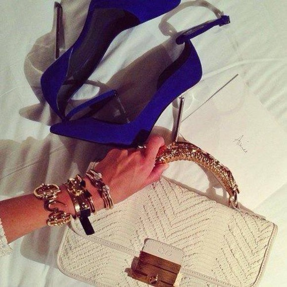 gold bag beige