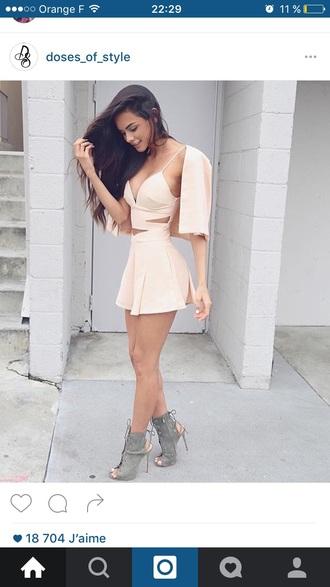 dress cute cute dress pink summer dress