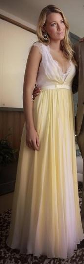 dress,yellow,yellow dress,white,lace,maxi dress