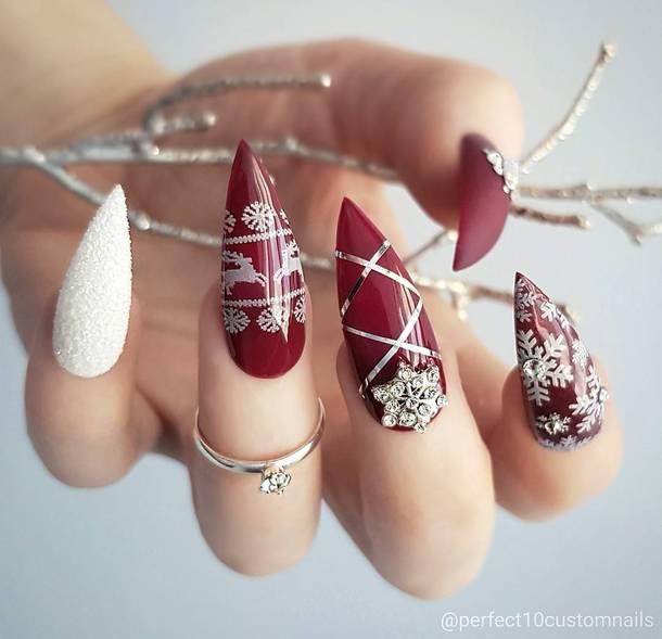 nail polish holiday nail art holidays nail art christmas holiday season nails nail art nail stickers christmas nail art