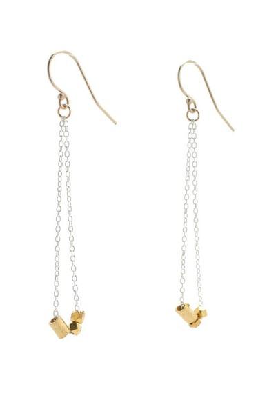 long jewels delicate earrings
